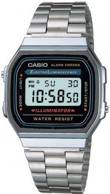 Годинник чоловічий CASIO A168WA-1YES