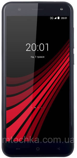Телефон Ergo V540 Level Dual Sim Black