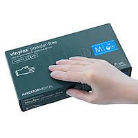 Перчатки виниловые Vinylex M нестерильные неопудренные (50 пар/уп)