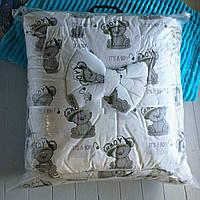 """Фирменный комплект постельного белья """"МАЛЮТКА"""" мишка беби, фото 1"""
