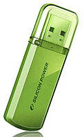 Флешдрайв Silicon Power 32Gb Helios 101 Green