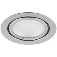 Светодиодный мебельный светильник Feron LN7 3W 4000K хром, золото 220V (врезной)