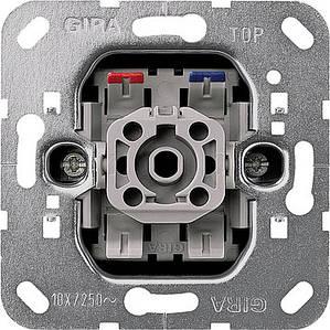 Gira 011600 Клавишный переключатель двухполюсный с индикацией