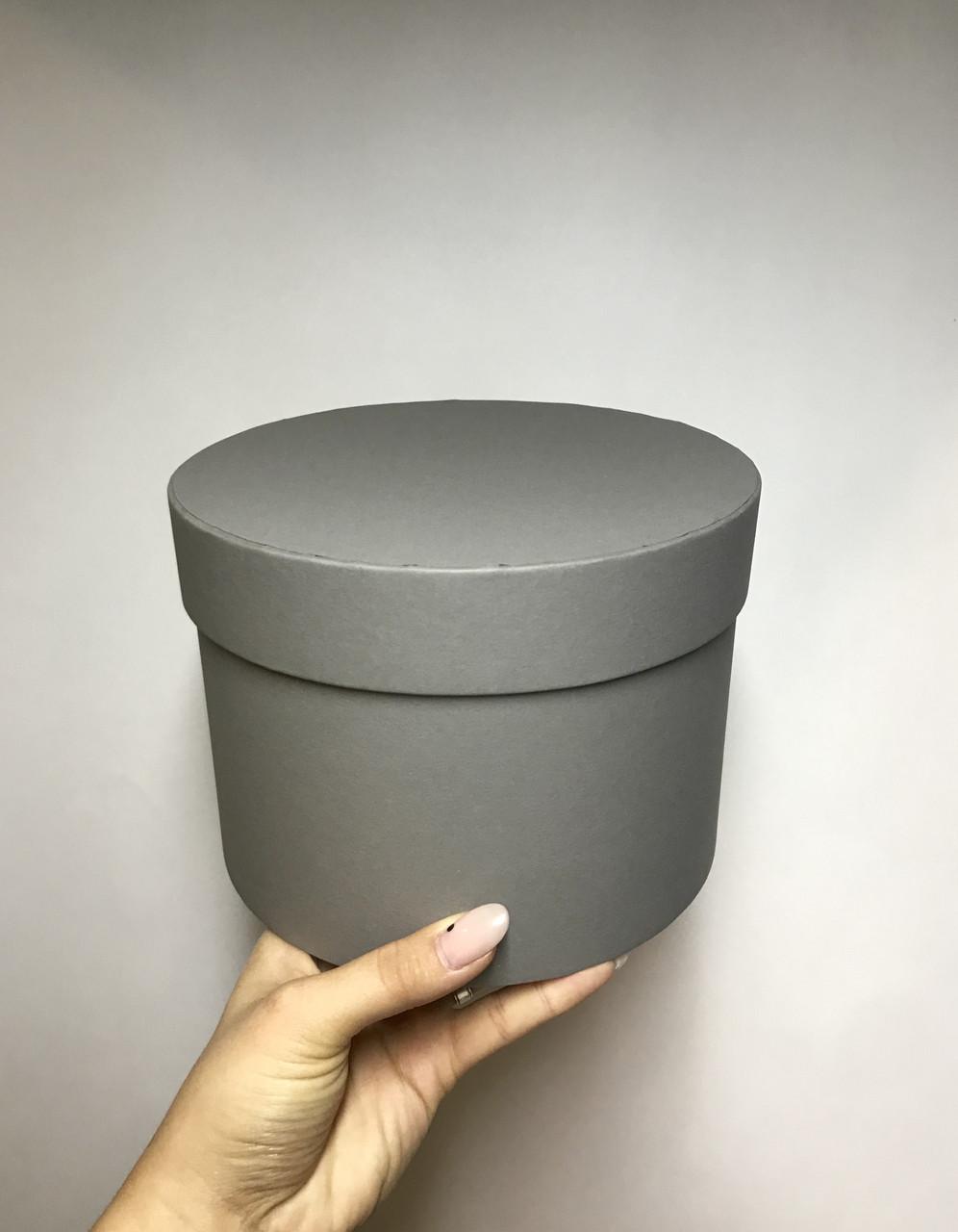 Коробка средняя низкая с крышкой