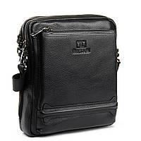 Мужская сумка планшет кожаная BRETTON 21*25*9, фото 1