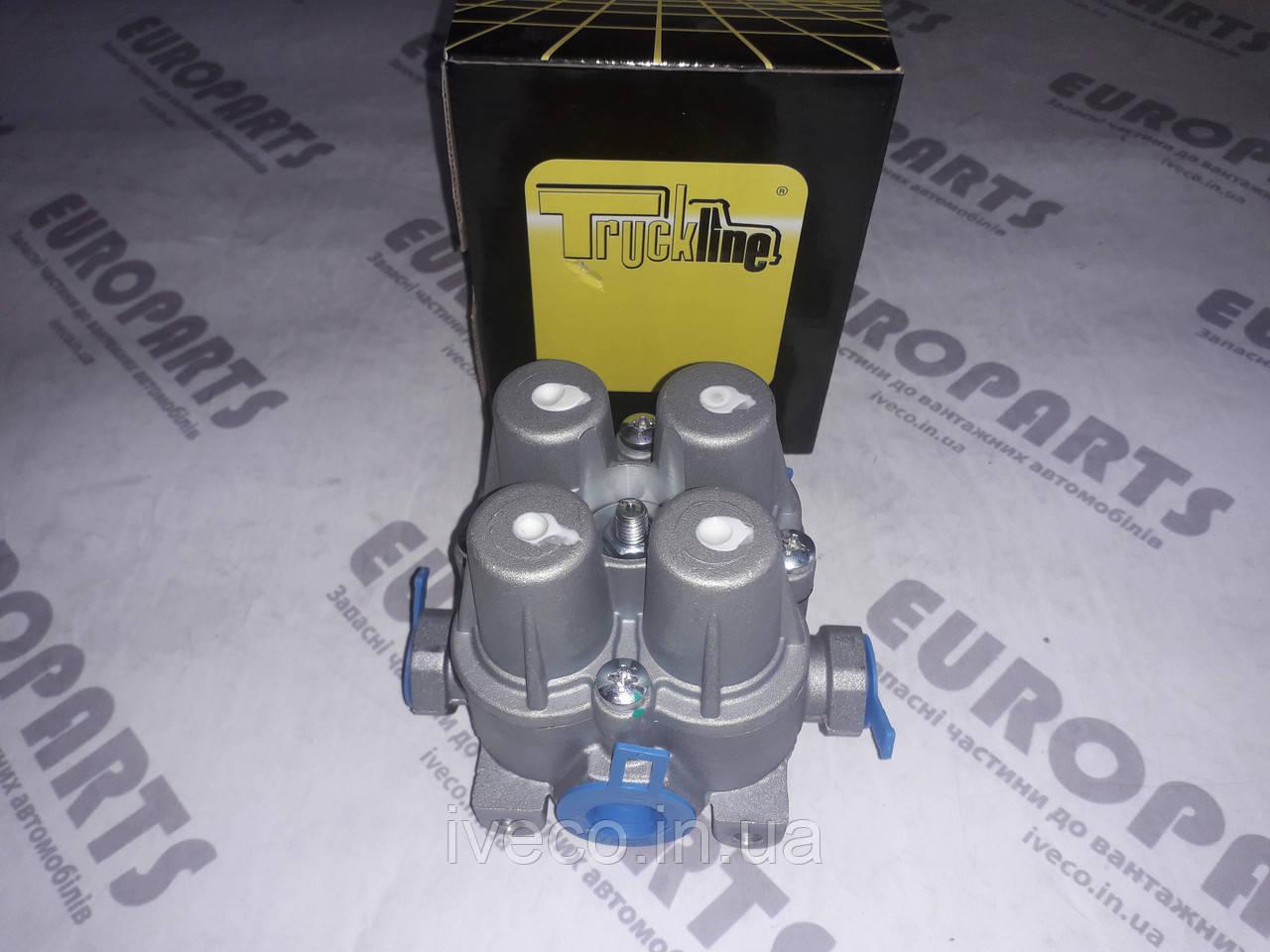 42078368 42530051 AE4170 1506418 0670766 Кран клапан разгрузочный четырехконтурный IVECO DAF Ивеко Даф