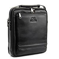 Мужская сумка планшет кожаная BRETTON 24*28*9, фото 1