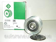 Ременной шкив (6 ребер) генератора на Мерседес Спринтер 2.3D/2.9TDI 1995-2000 INA (Германия) 535001310