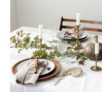 идеи декора стола свечами, фото
