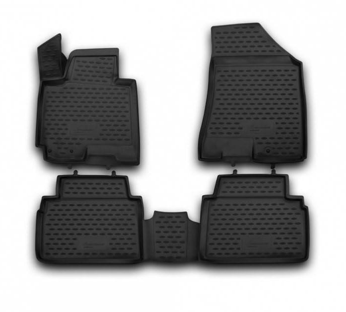 Килимки в салон для Toyota Sienna 2013-> 4 шт поліуретан NLC.3D.48.69.210 k