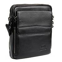 Мужская сумка планшет кожаная BRETTON 21*24*7, фото 1