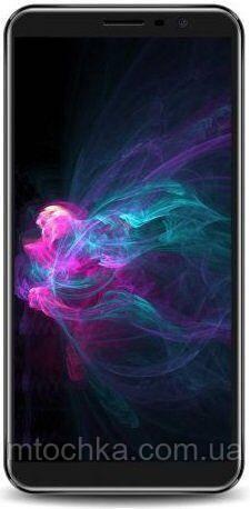Смартфон Sigma mobile X-Style S55014G Black  з чохлом (официальная гарантия)
