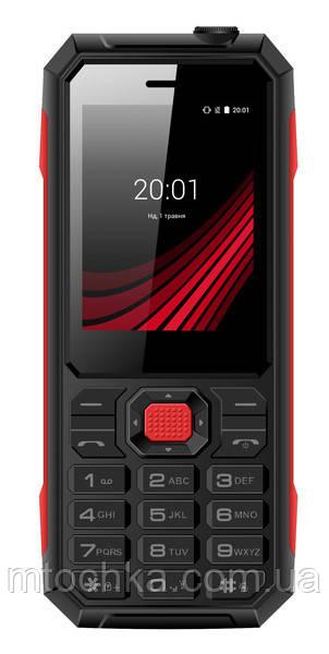 Телефон Ergo F248 Defender Black
