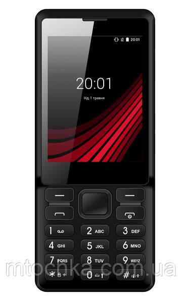 Телефон Ergo F283 Shot Black