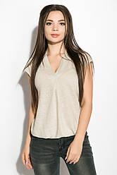 Блуза женская 516F480 (Оливковый)