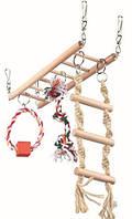 Подвесной мост для грызунов 29 × 25 × 9 см Trixie