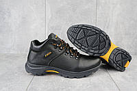 Ботинки мужские зимние ECCO 130 черные (натуральная кожа, зима)