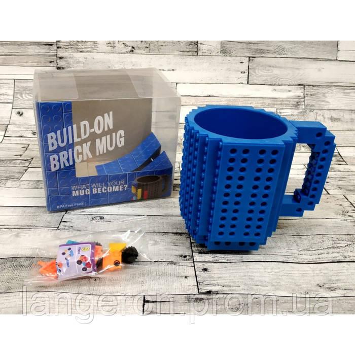 Купить Кружка Лего Lego цвет синий