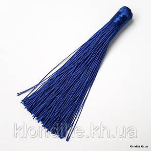 Кисточки из ниток, шёлковые, 12 см, Цвет: Электрик