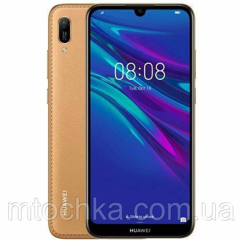 Телефон Huawei Y6 2019 DualSim Brown Faux Leather