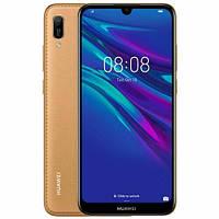 Телефон Huawei Y6 2019 DualSim Brown Faux Leather, фото 1
