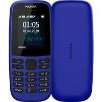 Телефон Nokia 105 Dual Sim 2019 Blue