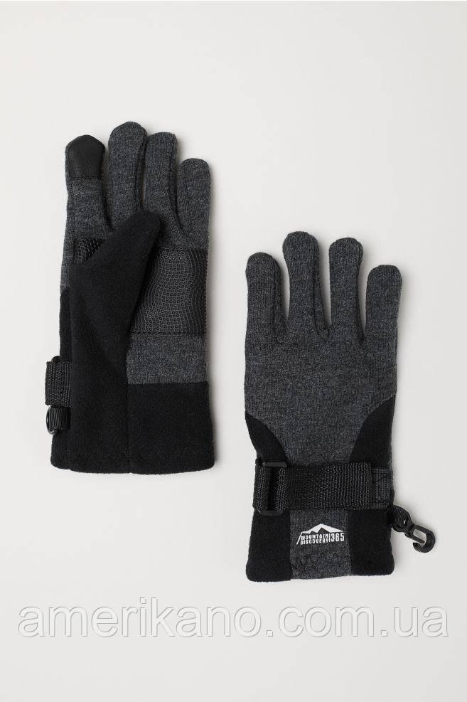 Перчатки для смартфонов H&M подростковые. Термоперчатки. 10-12 лет