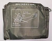 Манжета INDEX нейлоновая для взрослых с кольцом. Окружность руки от 22 до 32 см.  на 1 трубку, фото 1
