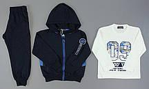 Трикотажный  костюм - тройка для мальчиков S&D, 98-128 рр. Артикул: CH5163 {есть:104}