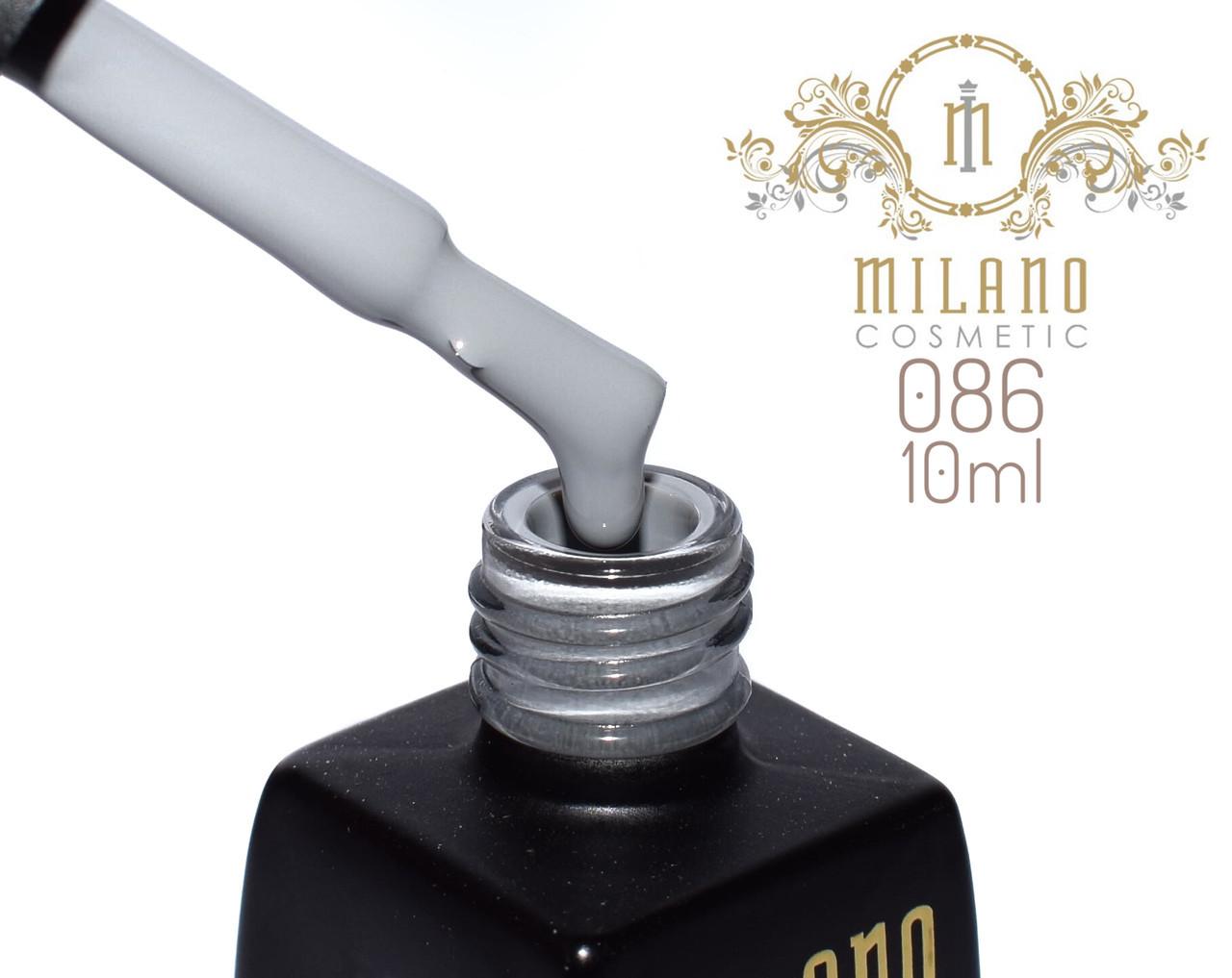 Гель лак MILANO  10ml № 086