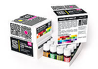 Набор гелевых пищевых красителей YERO Colors KIT 40 шт. по 20 г