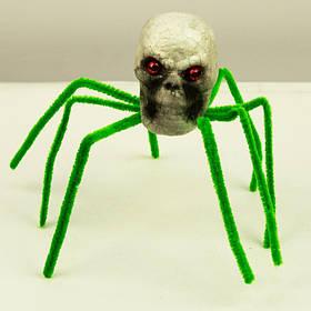 Павук пінопластовий на Хелловін, Паук пенопластовый на Хэллоуин