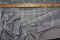 Ткань трикотаж осенний, мягкий,  стрейч, плотный, без начеса, полоса розовая пог. м. № 204, фото 1
