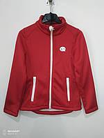 Кофта ветровка детская Германия, цвет красный, размер  146/152