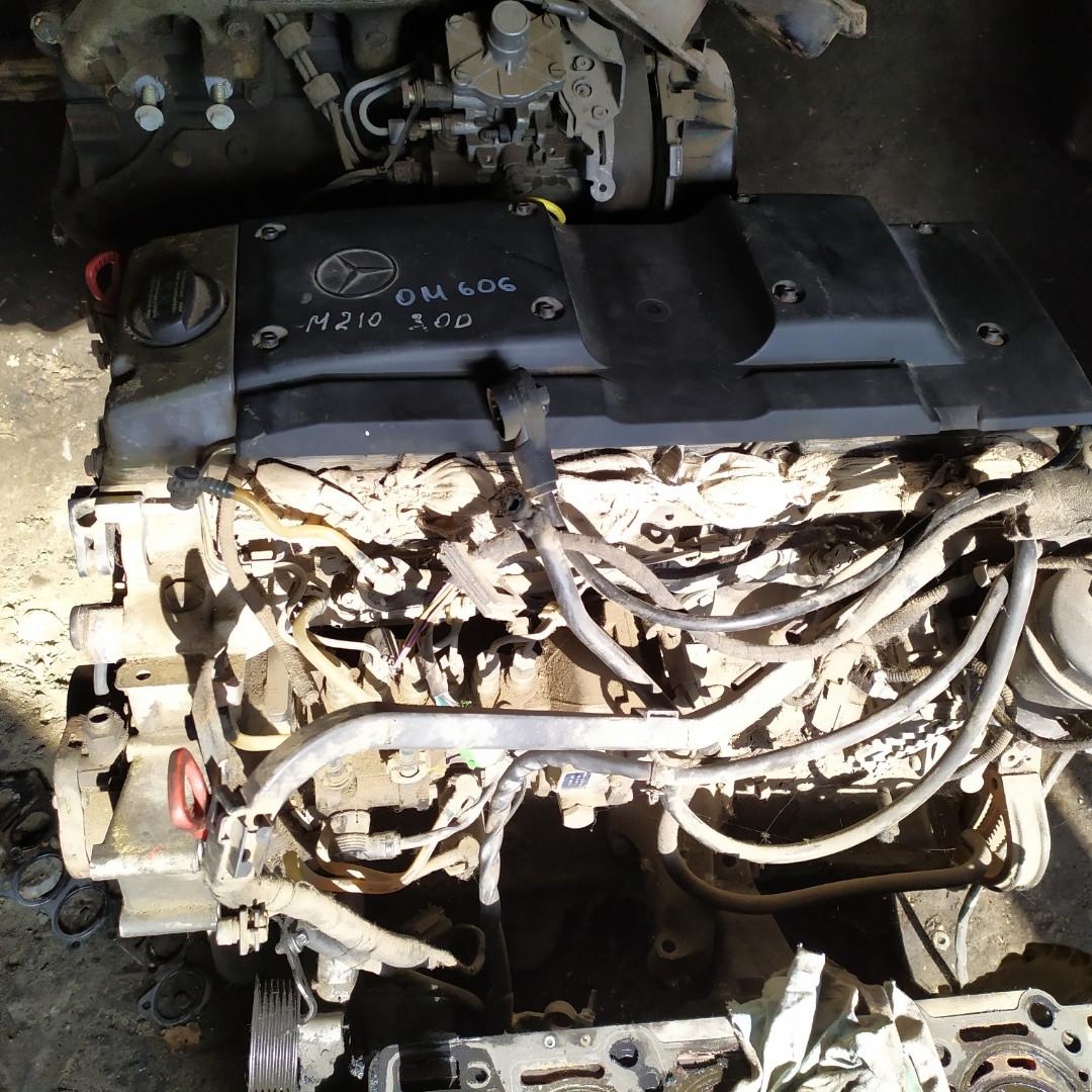 Mercedes W210, W124 3.0 D двигатель, мотор, двигун OM606, OM 606