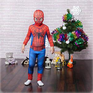 Маскарадный костюм супергероя для мальчиков Человек Паук 6-13 лет