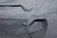 """Светлая.Ткань трикотаж осенний, плотный,  стрейч, """"гусиная лапка очень мелкая светлая""""   пог. м. № 139, фото 1"""