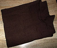 Гольф с начесом очень теплый Турция размер 48-54 код 071 шоколад