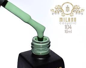 Гель лак MILANO  10ml № 104
