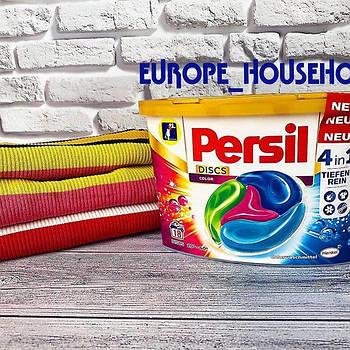 Гель для стирки в капсулах Persil Discs Universal Deep Clean 4 в 1 28 штук