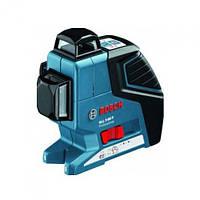 Нивелир лазерный линейный Bosch GLL 3-80 Р + вкладка для кейса L-Boxx, фото 1