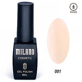 Гель лак MILANO 001