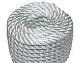 Канат капроновый 3-х прядный  д.16мм РН-4400 кг, фото 7