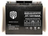 Аккумулятор 12В 18Аh Defending Technology