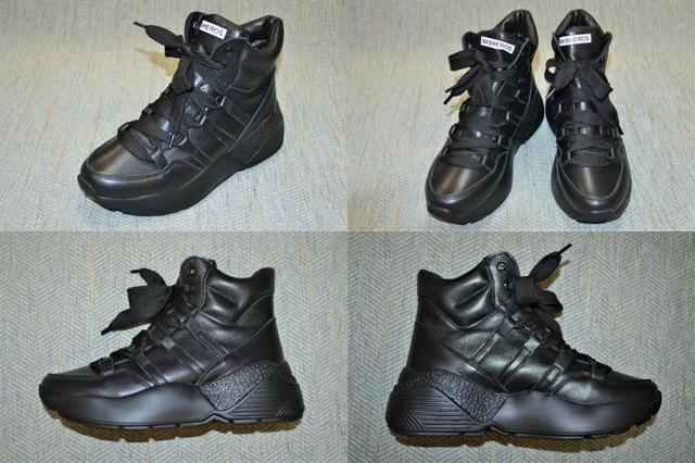 Зимние женские ботинки-кроссы, Masheros фото