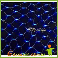 Светодиодная гирлянда сетка на окно NET LIGHT 2.5х1.25 м уличные