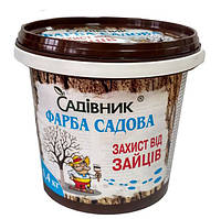 Краска садовая для деревьев от зайцев 1,4 кг, Садовник
