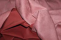 Ткань замш на дайвинге пыльная роза, фото 1