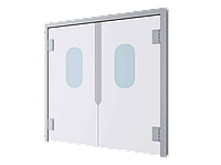 DoorHan SWD —  пластиковые маятниковые двери