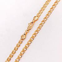 """Цепочка Xuping Jewelry 50 см х 3,8 мм """"Лав"""" медицинское золото, позолота 18К. А/В 4263"""